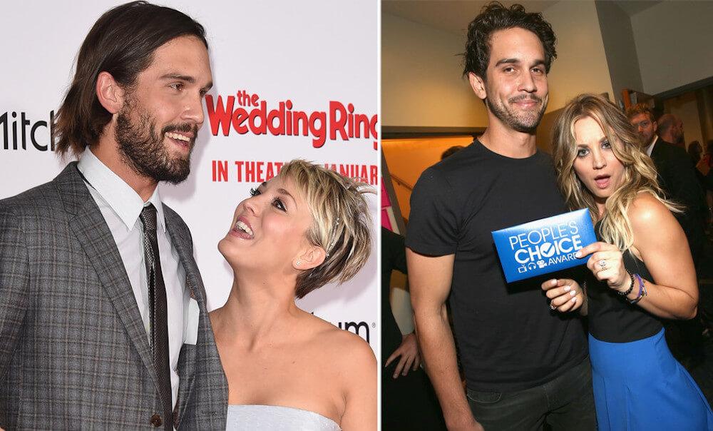 Kaley Cuoco and ex-husband Ryan Sweeting