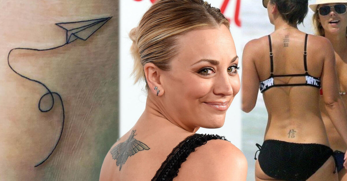Kaley Cuoco tattoos and meanings