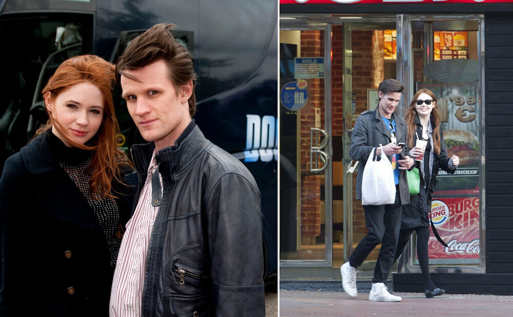 Karen Gillan dating rumors with Matt Smith