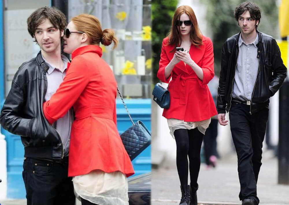 Karen Gillan and long-term boyfriend Patrick Green