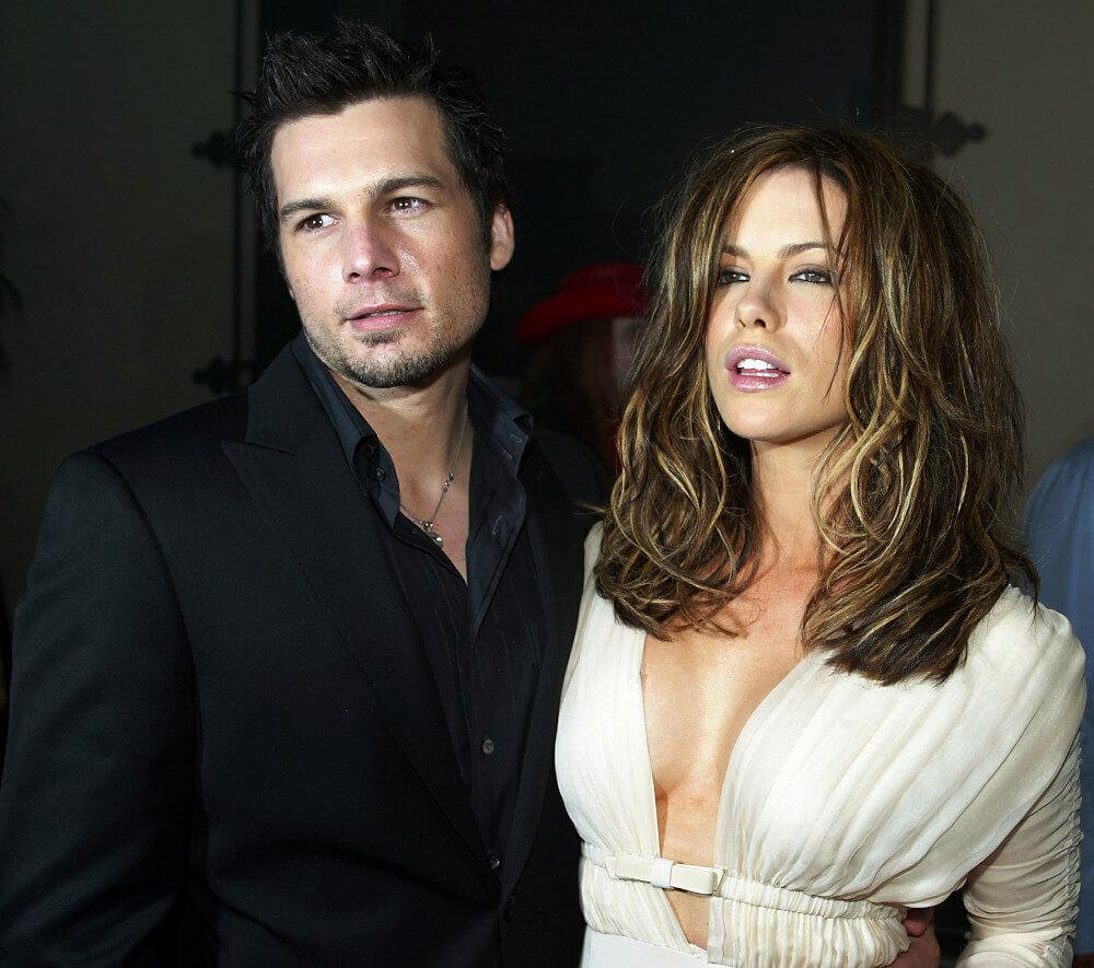 Kate Beckinsale and ex boyfriend Len Wiseman