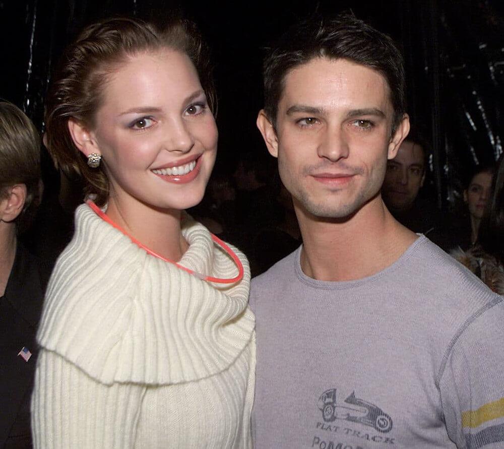Katherine Heigl and ex Jason Behr