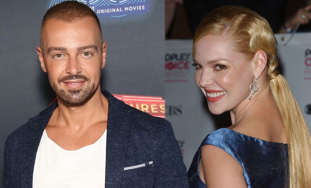 Katherine Heigl and ex Joey Lawrence