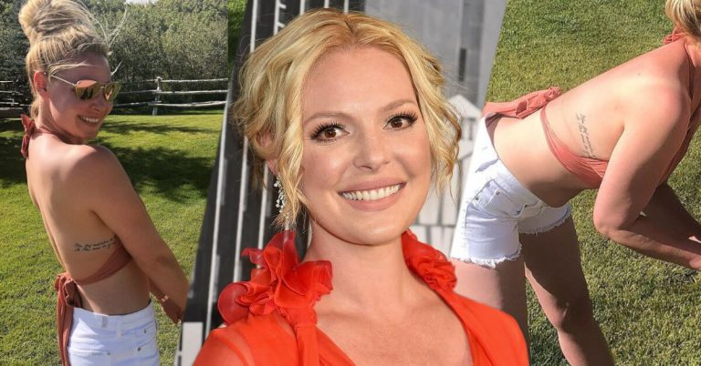Katherine Heigl tattoos and meanings