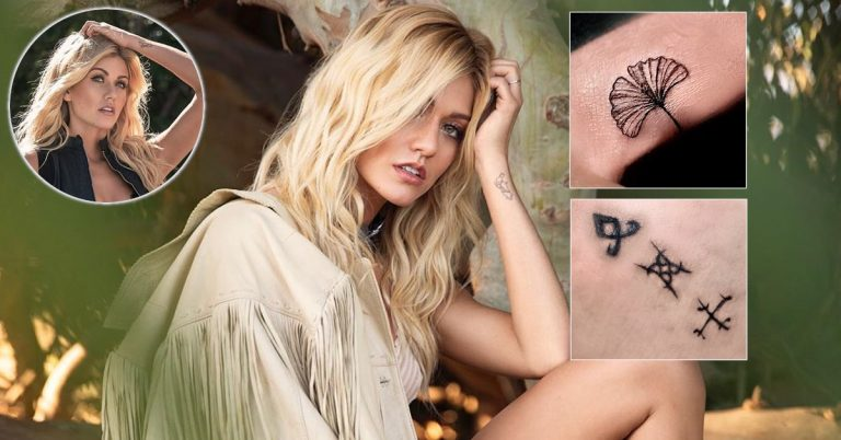 Katherine McNamara Tattoos