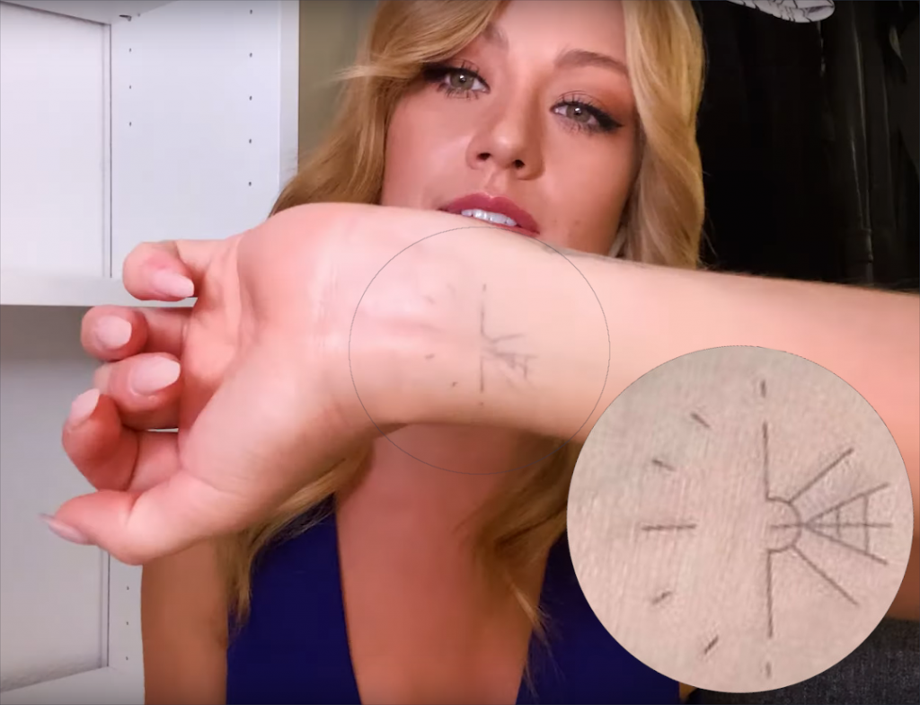 Katherine McNamara Wrist Tattoo