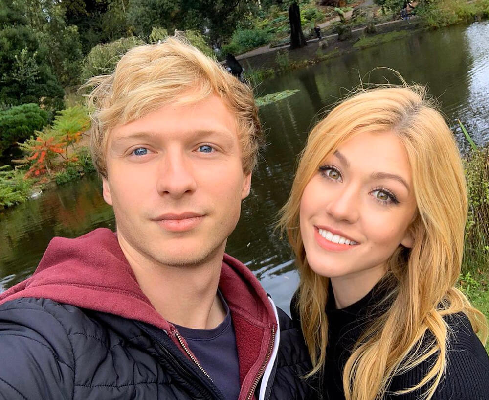 Katherine McNamara and ex boyfriend Will Tudor