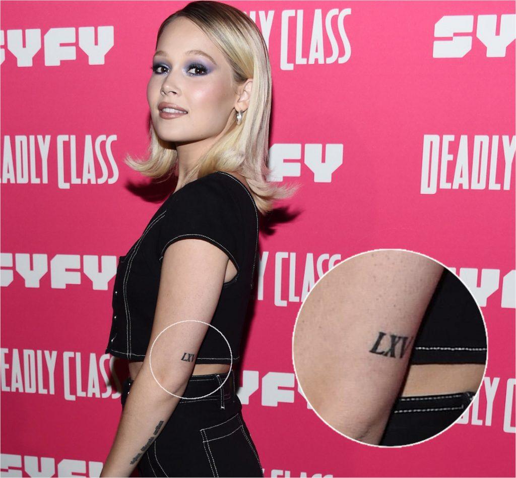 Kelli Berglund Roman Numeral Tattoo