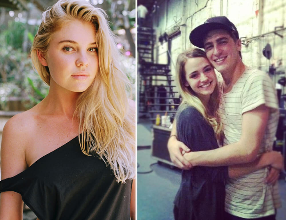 Kendall Schmidt and ex Kayslee Collins