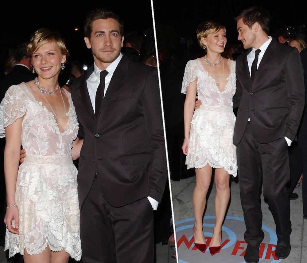 Kirsten Dunst and ex boyfriend Jake Gyllenhaal