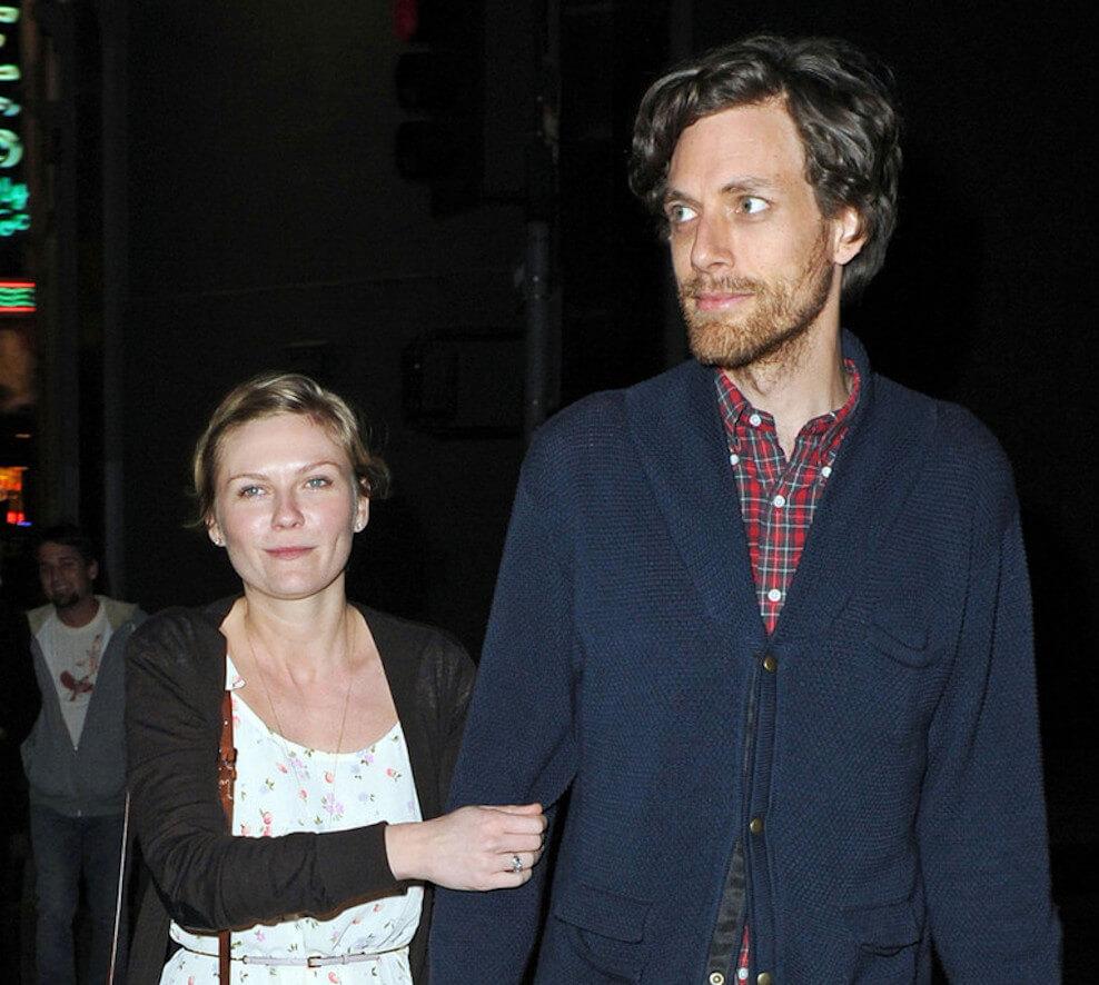 Kirsten Dunst and boyfriend Jason Boesel
