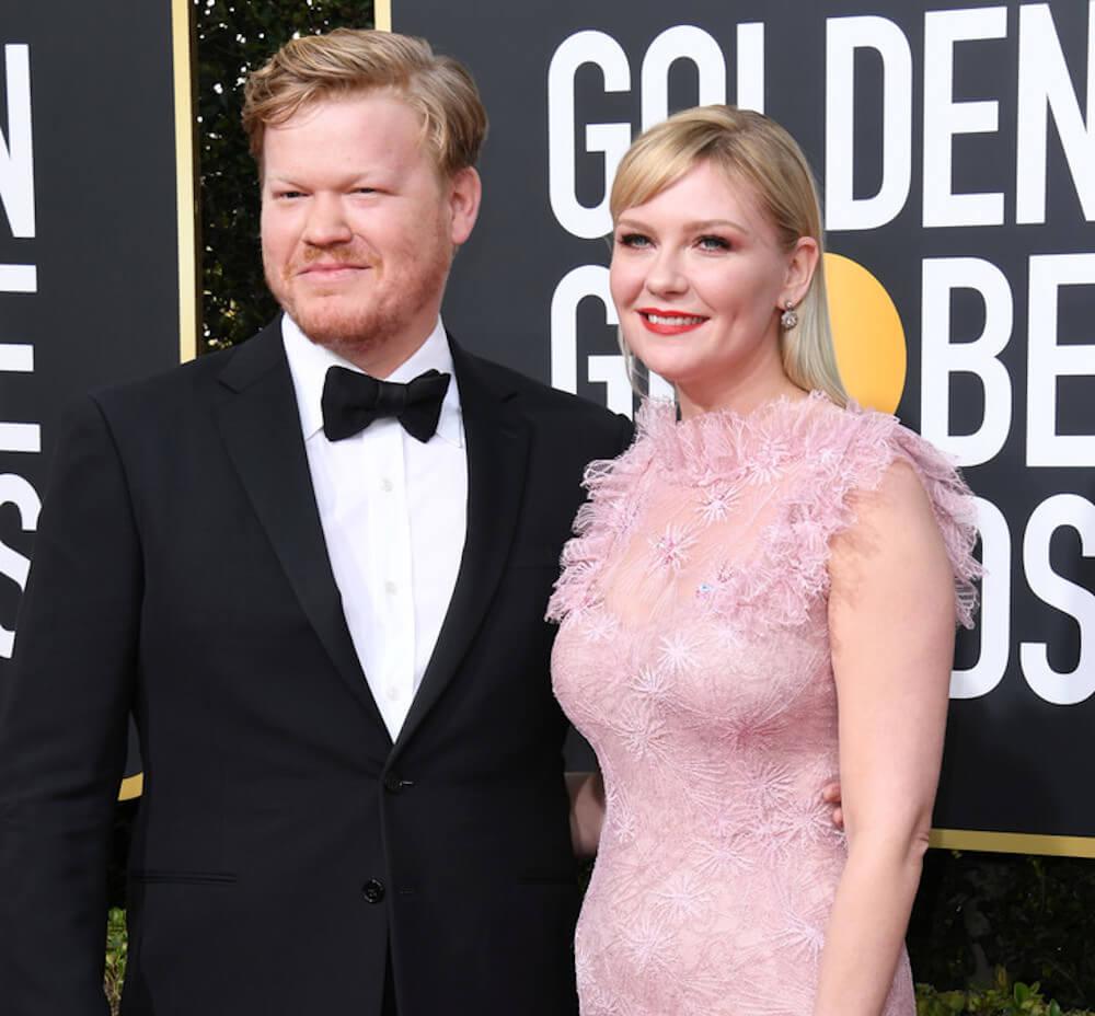 Kirsten Dunst and husband Jesse Plemons