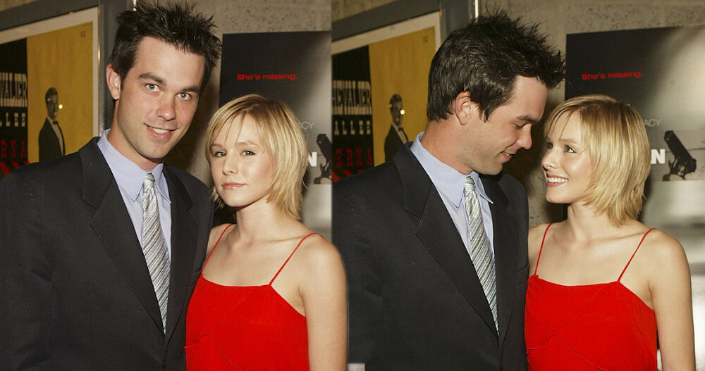 Kristen Bell and ex Kevin Mann