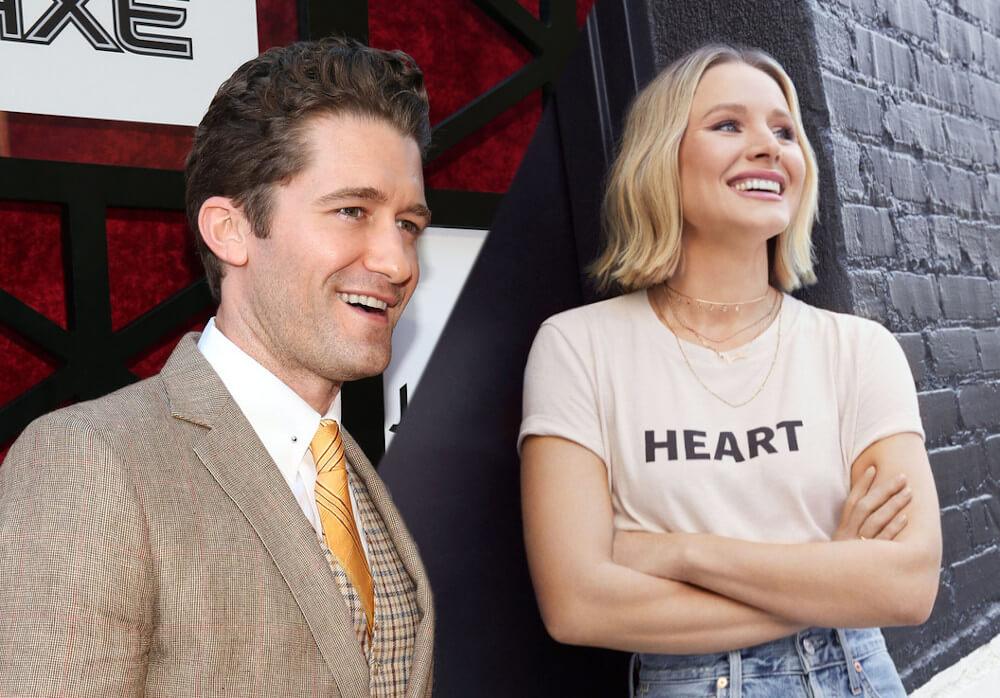 Kristen Bell and ex boyfriend Matthew Morrison
