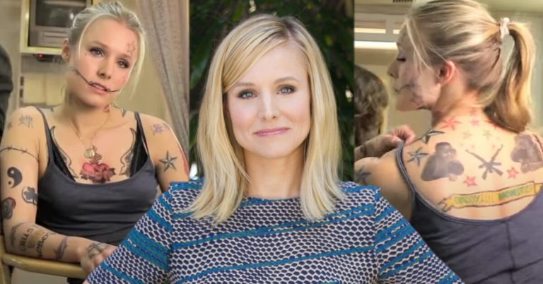Kristen Bell tattoos and meanings