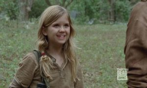Kyla Kenedy in The Walking Dead