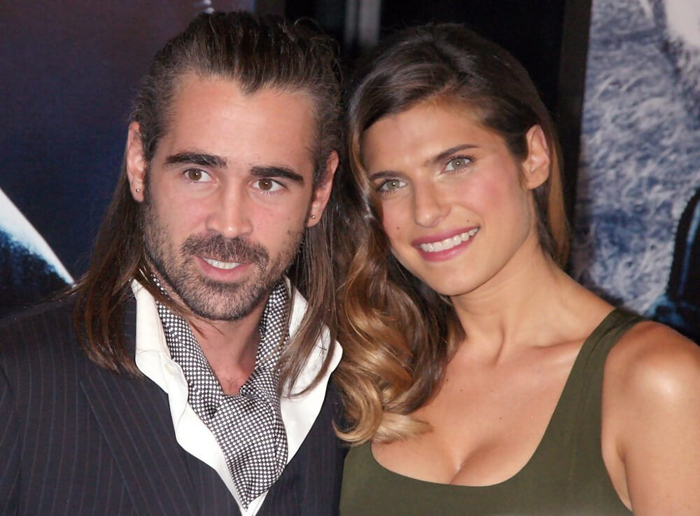 Lake Bell and ex boyfriend Colin Farrel