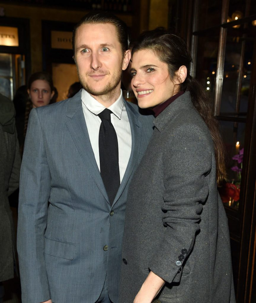 Lake Bell and now ex-husband Scott Campbell