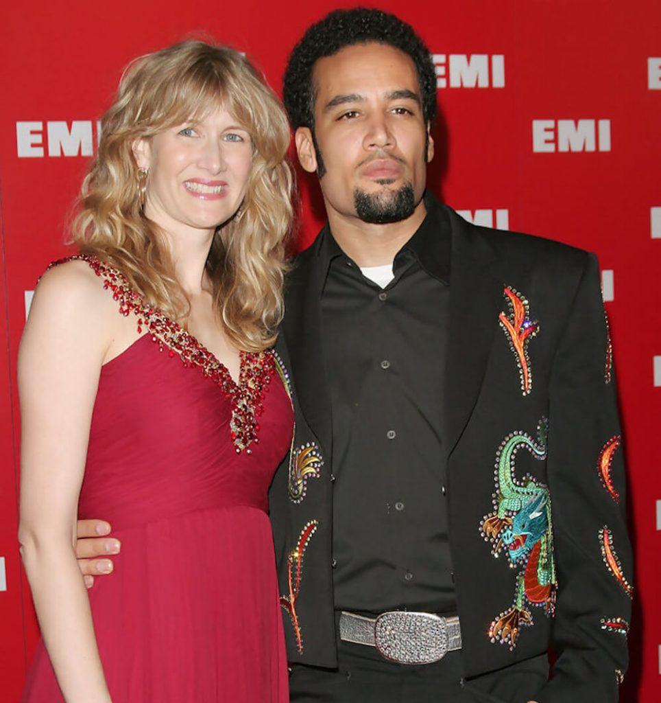 Laura Dern and ex husband Ben Harper