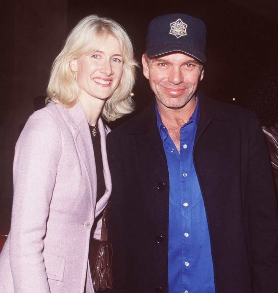 Laura Dern and ex boyfriend Billy Bob Thornton