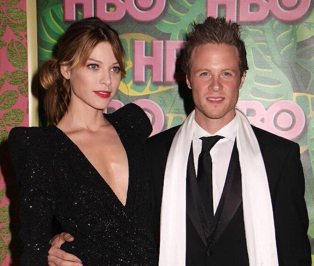 Lauren German and ex boyfriend Ashton Holmes