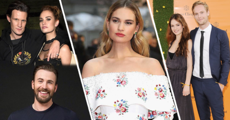 Lily James boyfriends list
