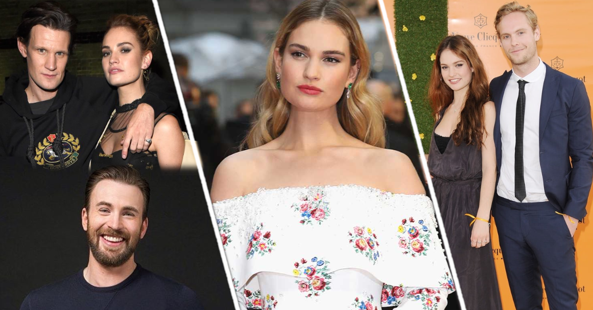Who is Lily James Boyfriend in 2021? Is She Dating Anyone?