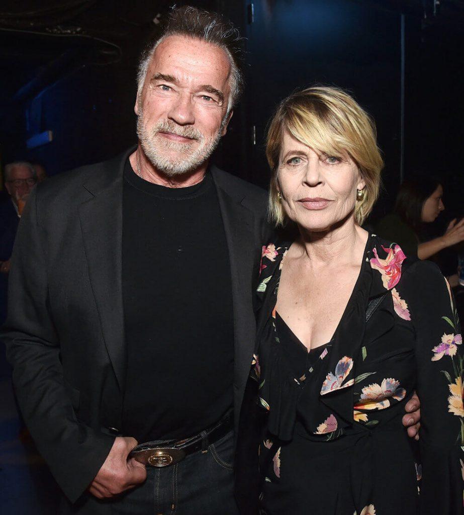 Linda Hamilton and Boyfriend Arnold Schwarzenegger