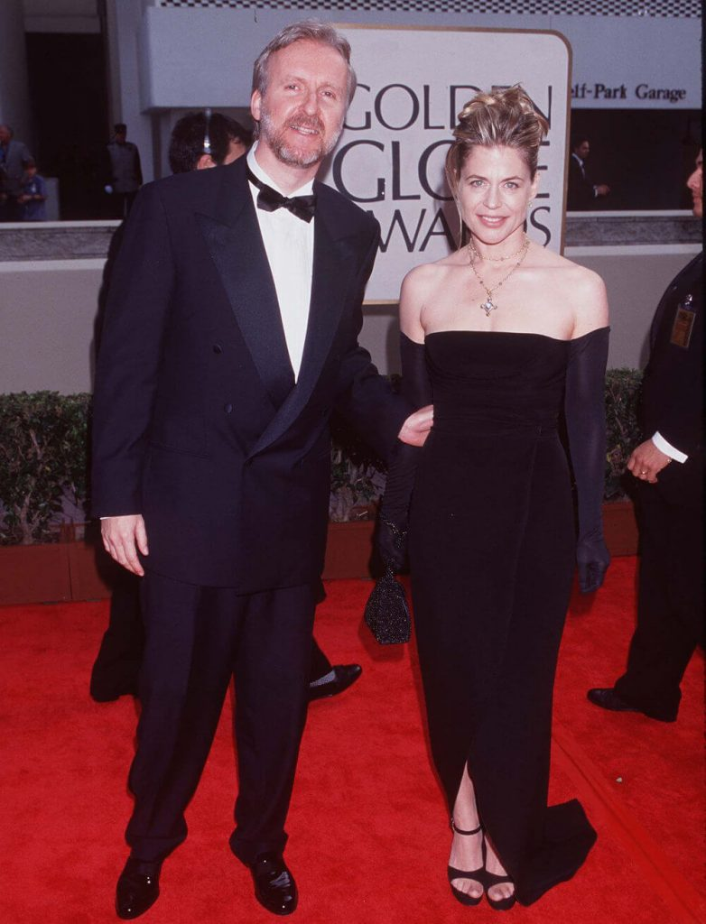 Linda Hamilton and ex husband James Cameron Red Carpet