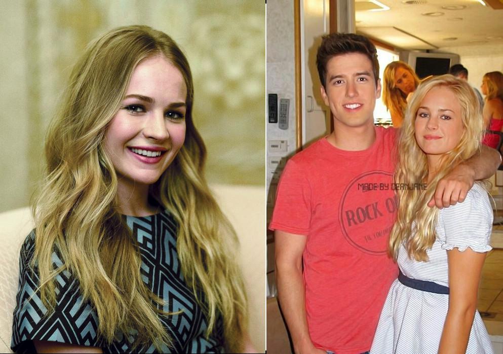 Logan Henderson and his ex girlfriend Britt Robertson