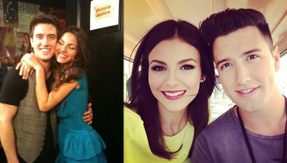 Logan Henderson and his girlfriend Victoria Justice