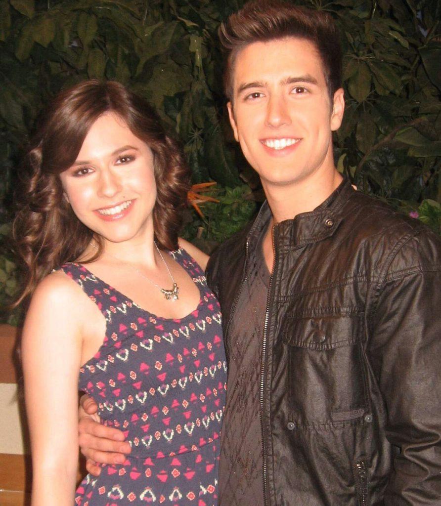 Logan-Henderson with his girlfriend Erin Sanders