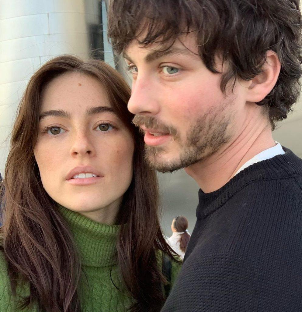 Logan Lerman and Analuisa Corrigan