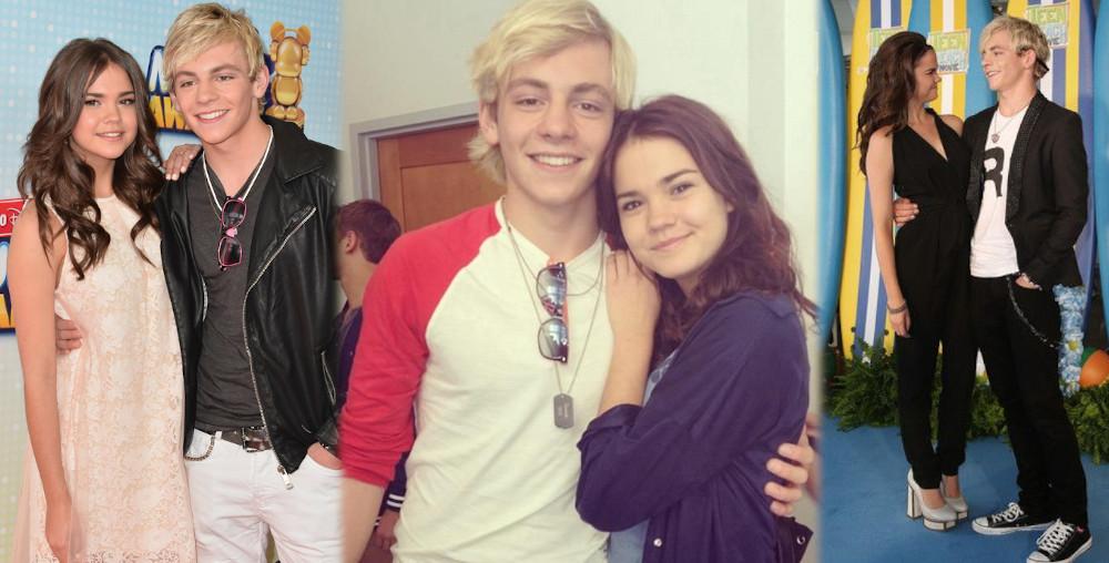 Maia Mitchell and ex boyfriend Ross Lynch