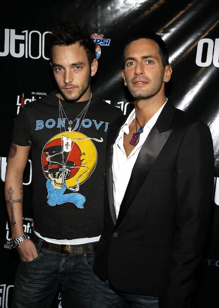 Marc Jacobs and ex boyfriend Jason Preston