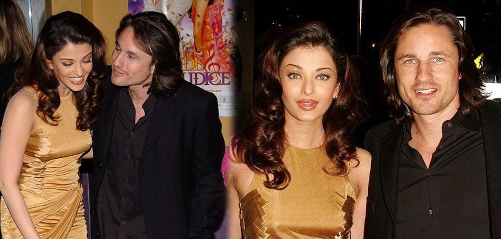 Martin Henderson with ex Aishwarya Rai Bachchan