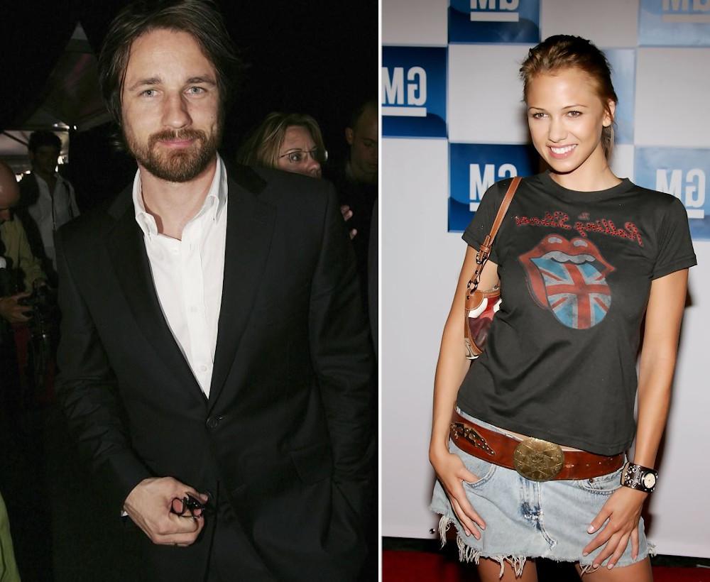 Martin Henderson and ex girlfriend Marnette Patterson