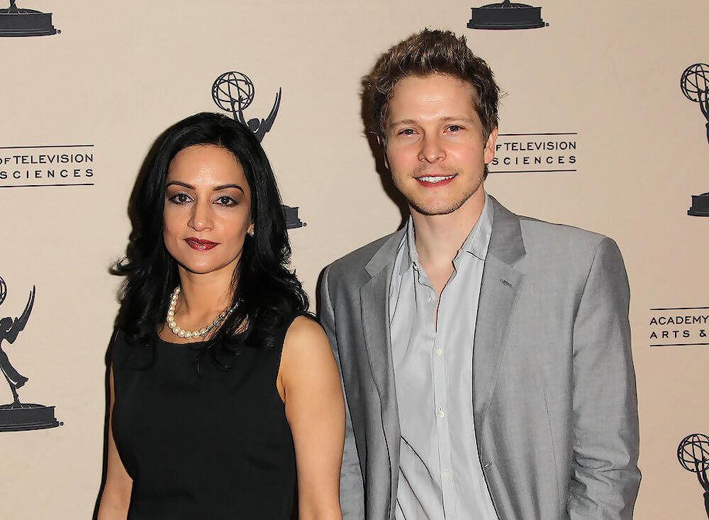 Matt Czuchry and ex girlfriend Archie Panjabi