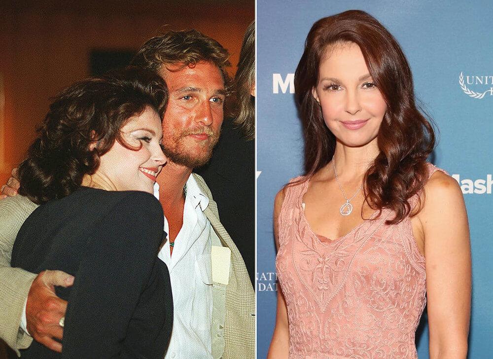 Matthew McConaughey and ex Ashley Judd