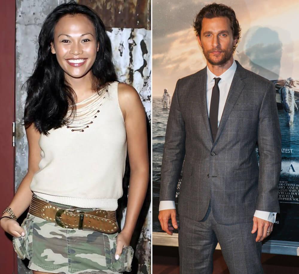 Matthew McConaughey and ex Cassandra Hepburn