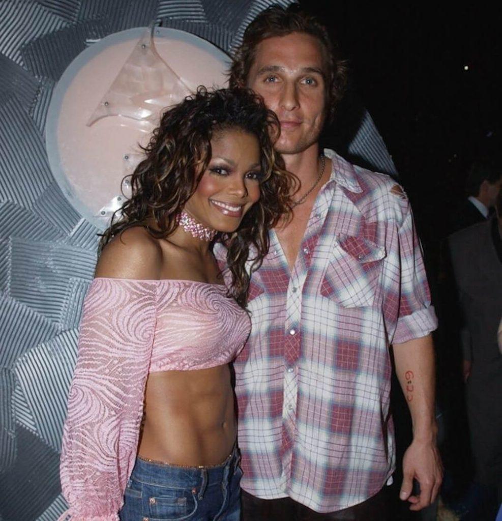Matthew McConaughey with Janet Jackson