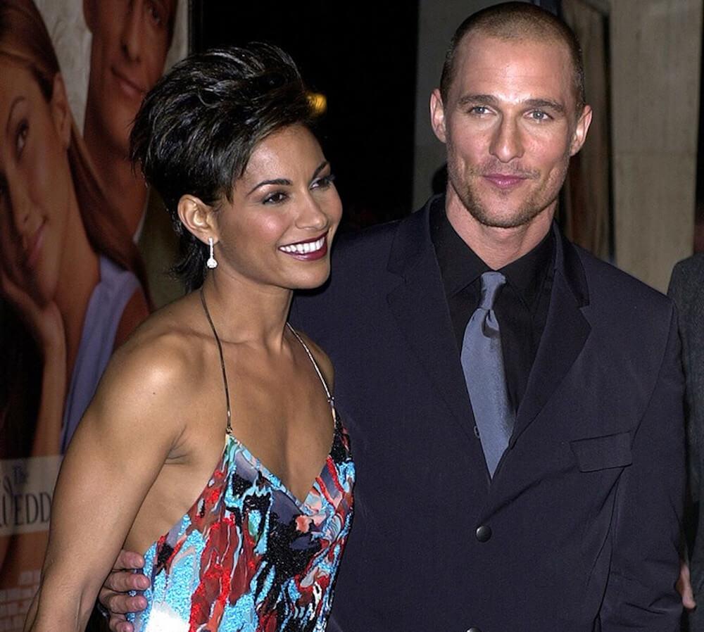 Matthew McConaughey with Salli Richardson