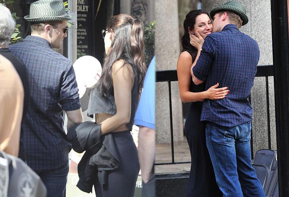 Matthew Morrison and ex girlfriend Kelly Brook
