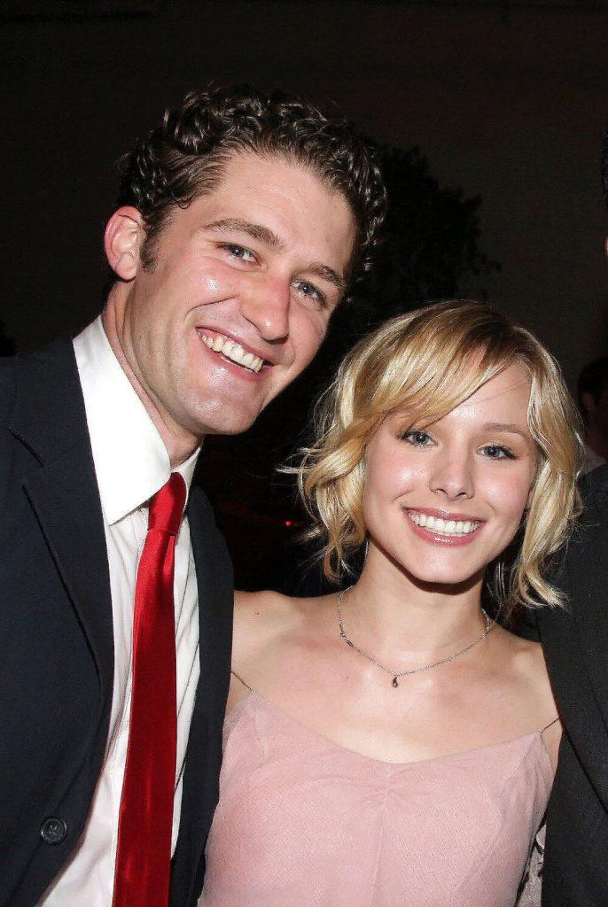 Matthew Morrison was rumored to be dating Kristen Bell