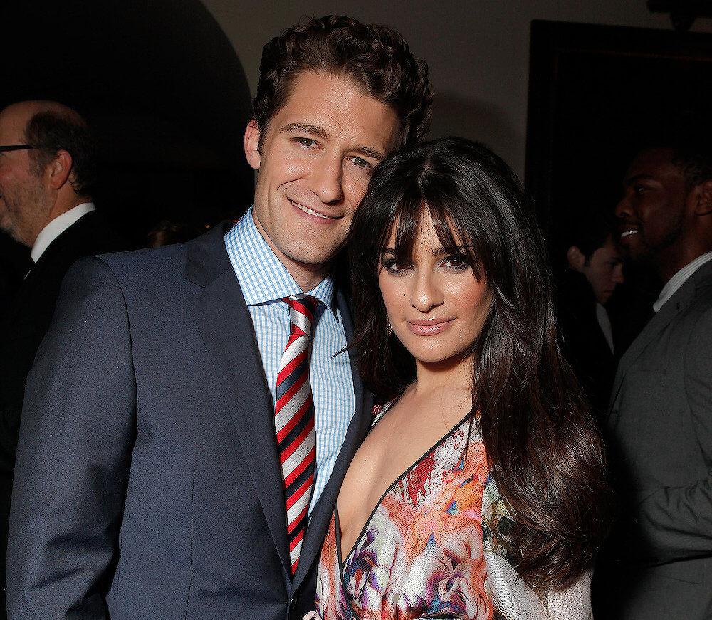 Matthew Morrison and girlfriend Lea Michele
