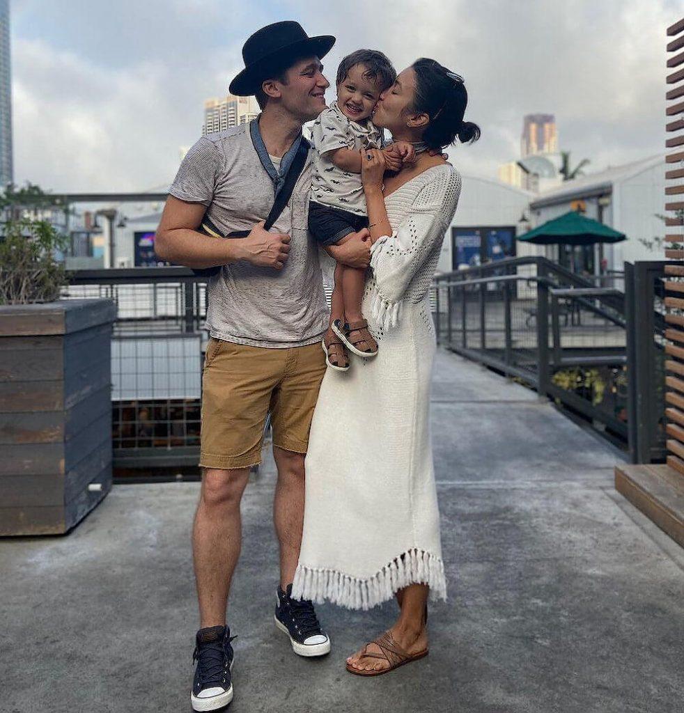 Matthew Morrison children and wife