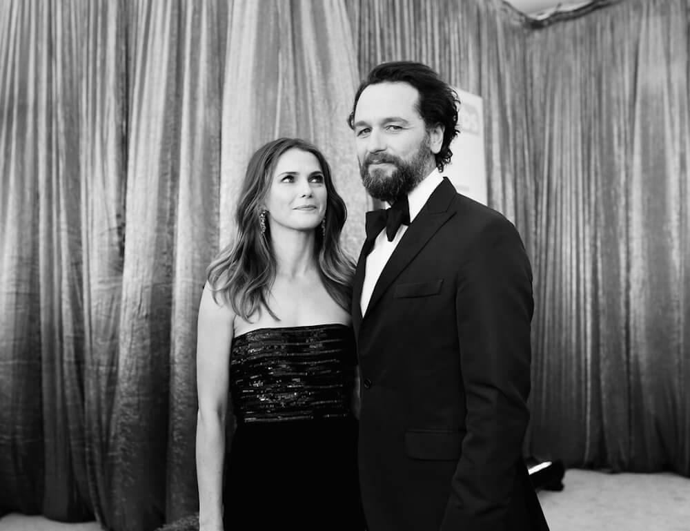 Matthew Rhys and wife Keri Russell