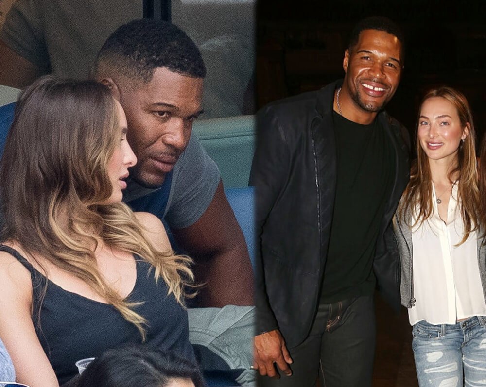 Michael Strahan with new girlfriend Kayla Quick