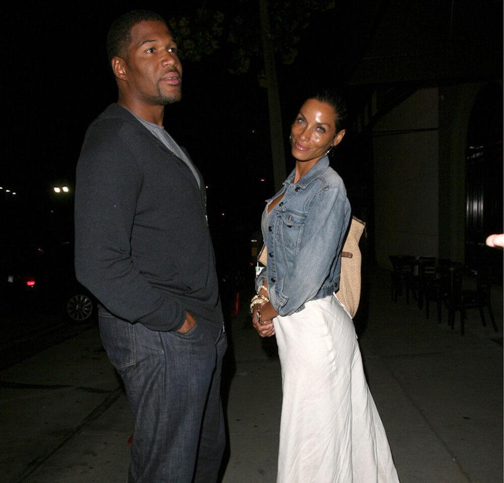 Michael Strahan and ex girlfriend Nicole Mitchell