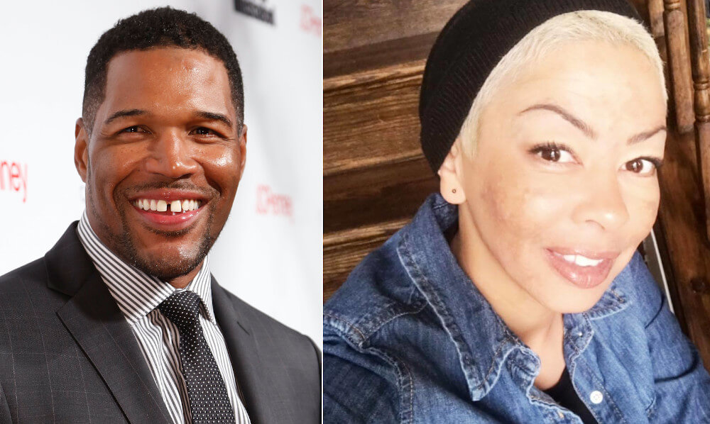 Michael Strahan and first wife Wanda Hutchins